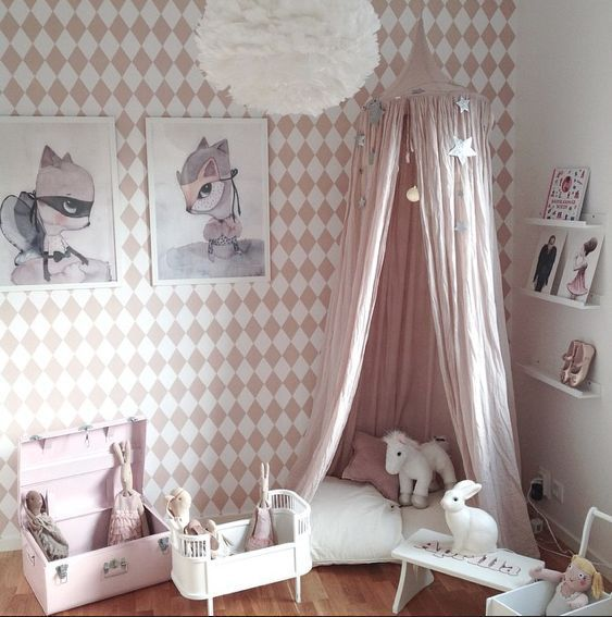12 Ways You Can Add Pink to Your Child's Room