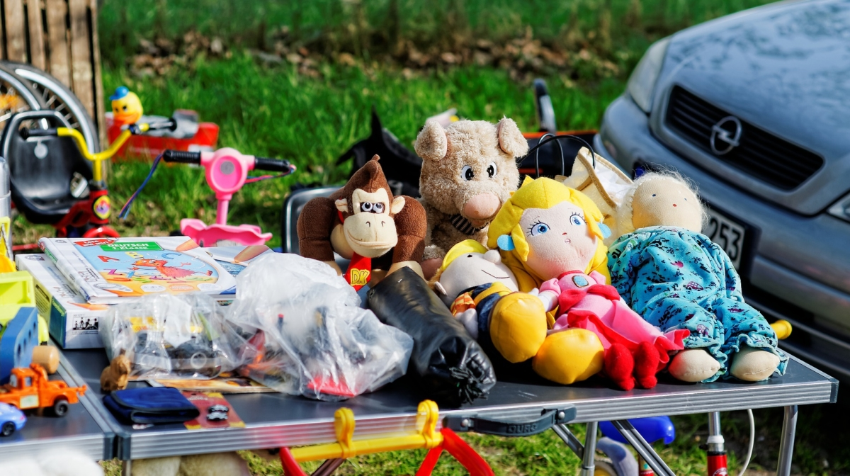 The Web Is Killing off the 30 Year Old Car Boot Sale