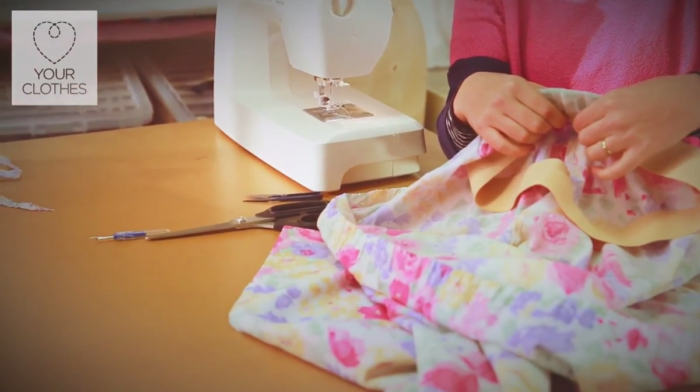 How to Make a Dress into a Skirt and Top