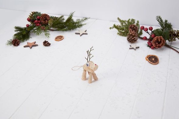Craft Your Own Cork Reindeer!
