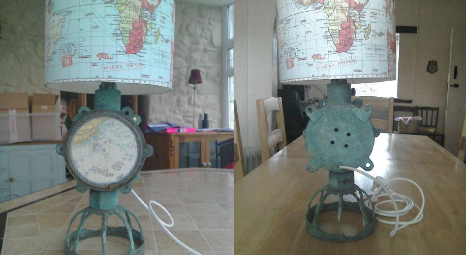 preloved nautical lamp