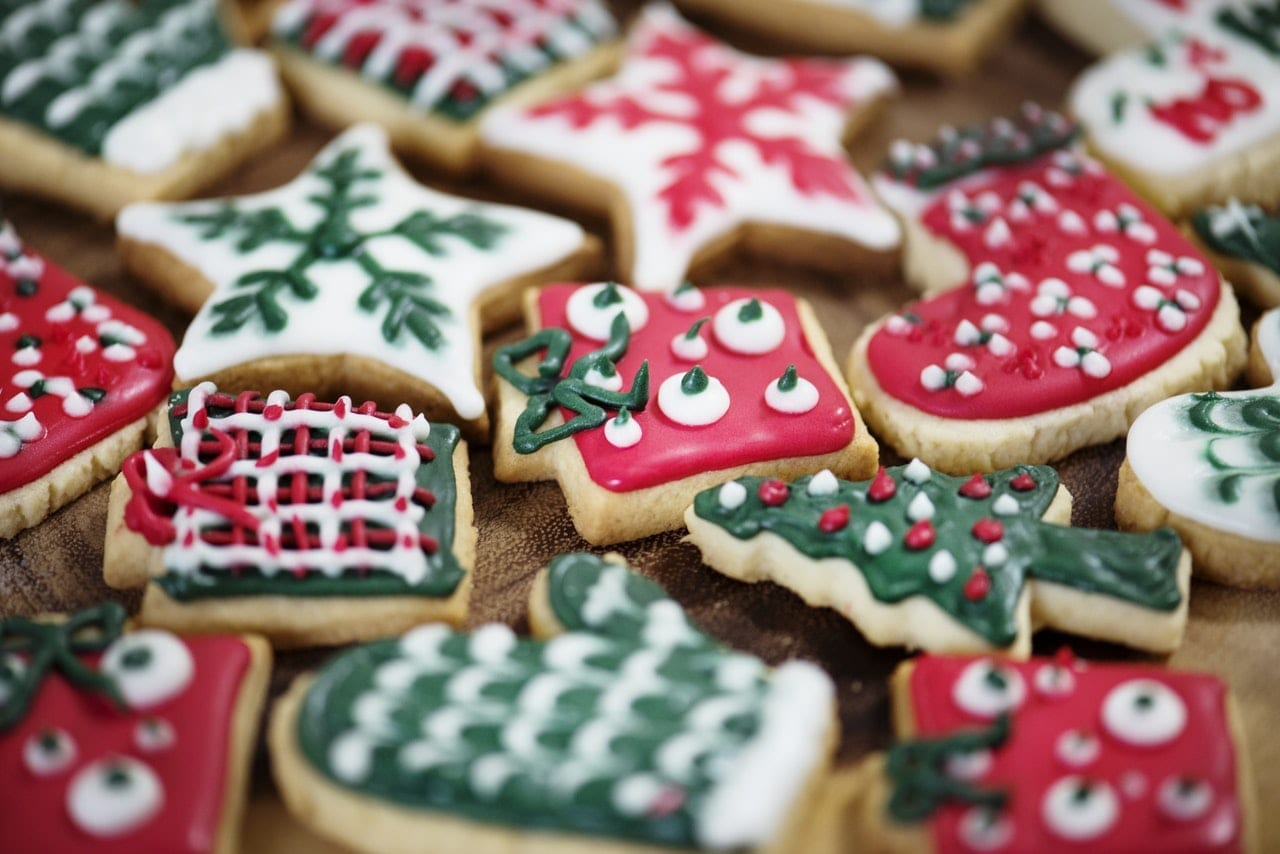 eco-friendly christmas cookies