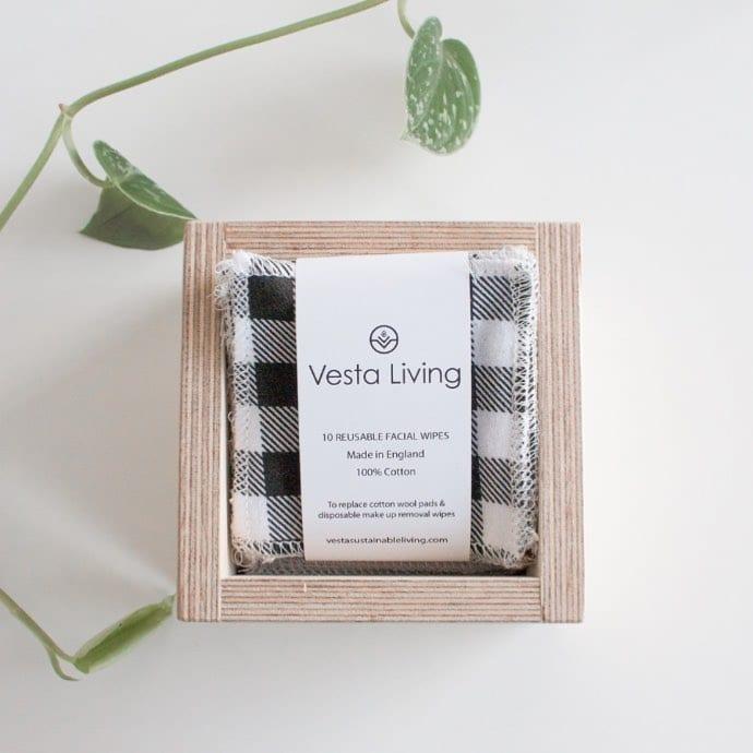 vesta living plywood storage box