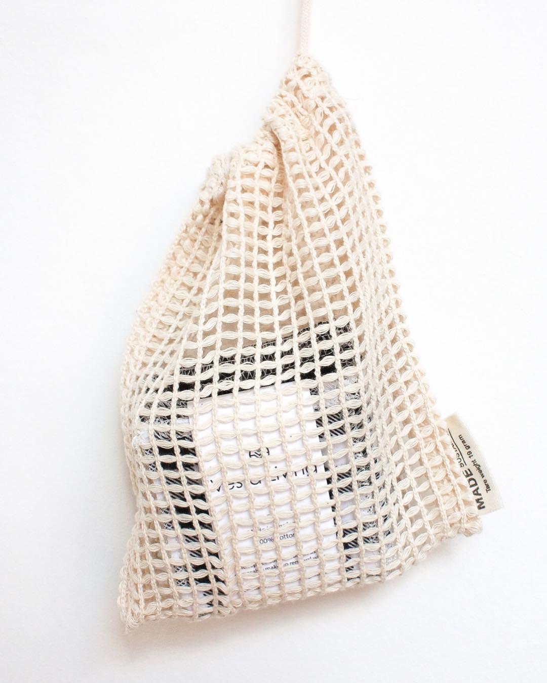vesta living organic cotton net bags