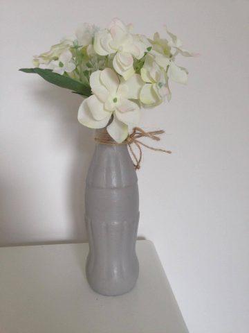 coke flower vase