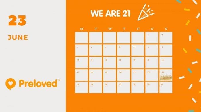 Preloved Turns 21!