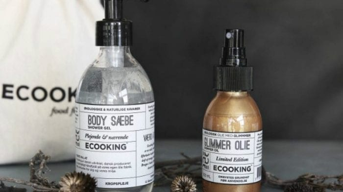 Ecooking丹麦食品级护肤品创始人来 lookfantastic 做明星产品给你用