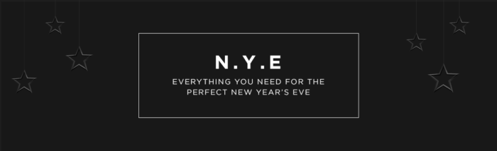 Be the Host with the Most this New Year's Eve