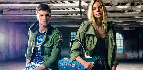 Superdry Launches on The Hut