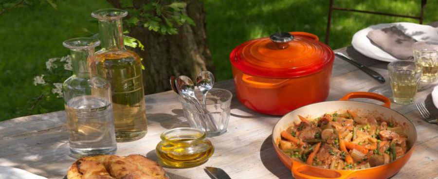 Cook this Summer with Le Creuset