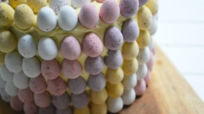 Mini Eggs Easter Cake Recipe
