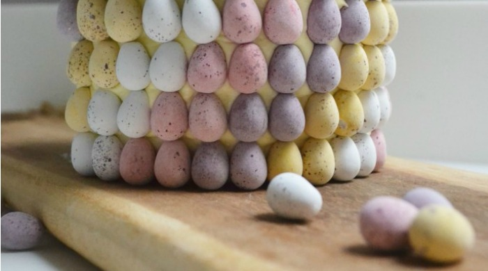 A Mini Eggs Easter cake.
