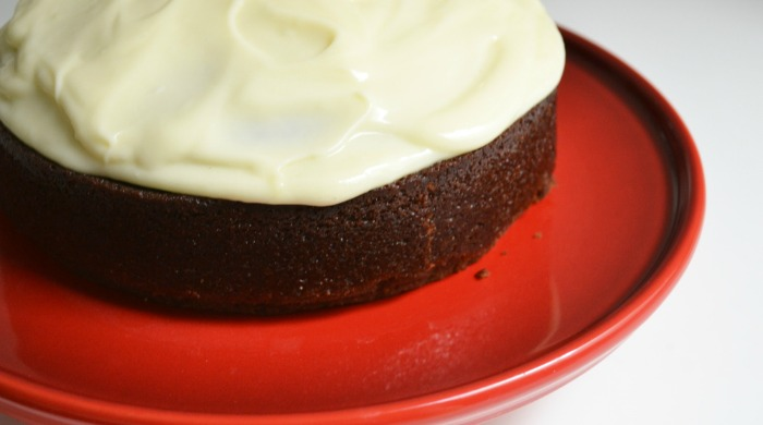 A chocolate Guinness cake.