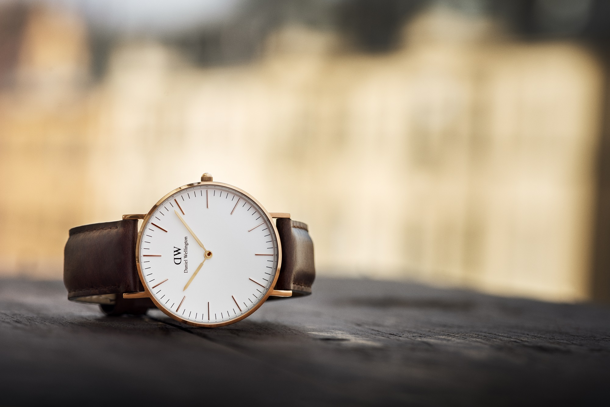 Daniel Wellington St Mawes Rose Gold Watch