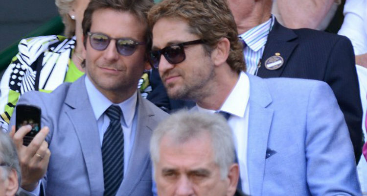 Bradley Cooper Gerard Butler Wimbledon