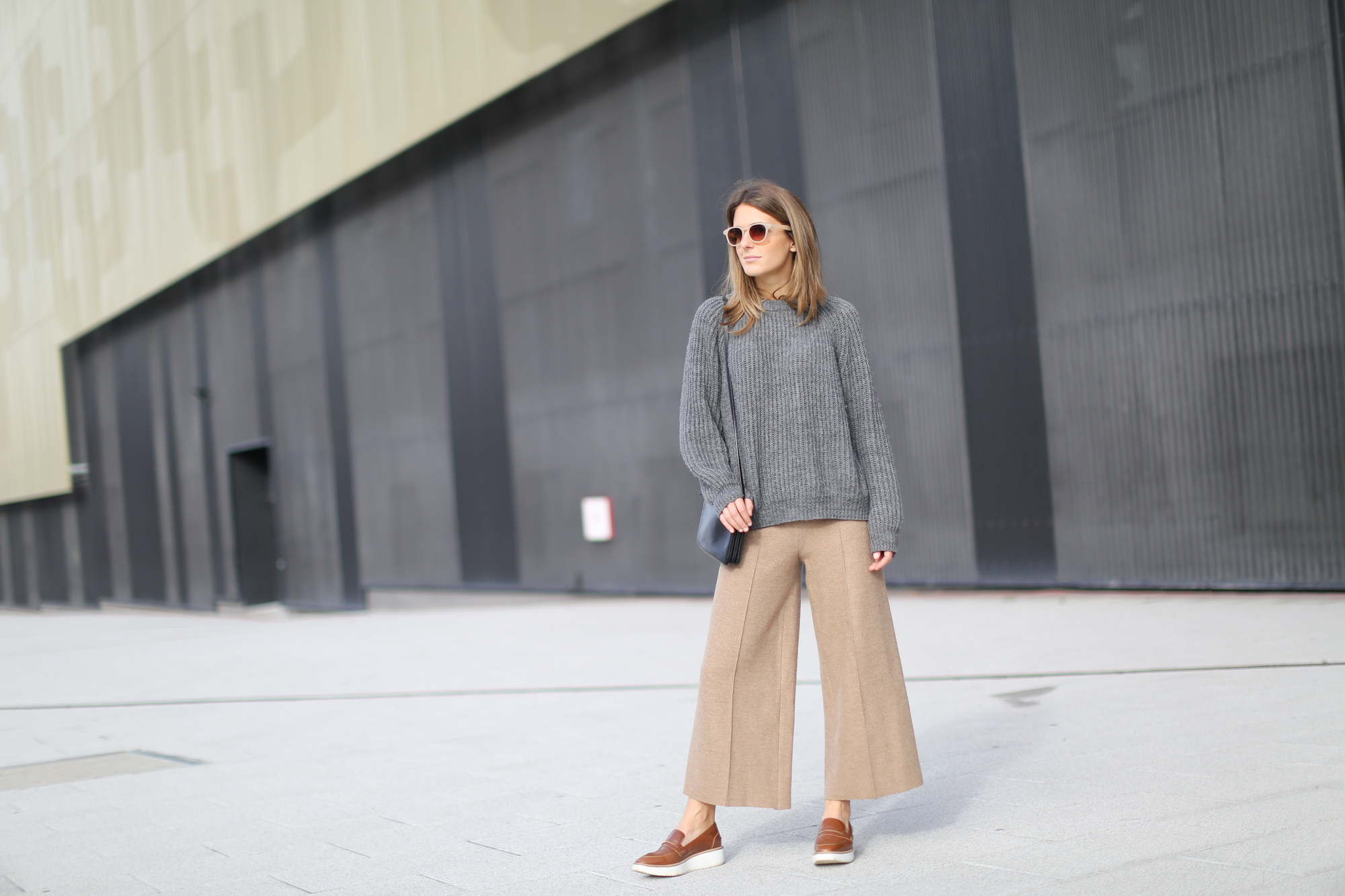How to wear culottes 2
