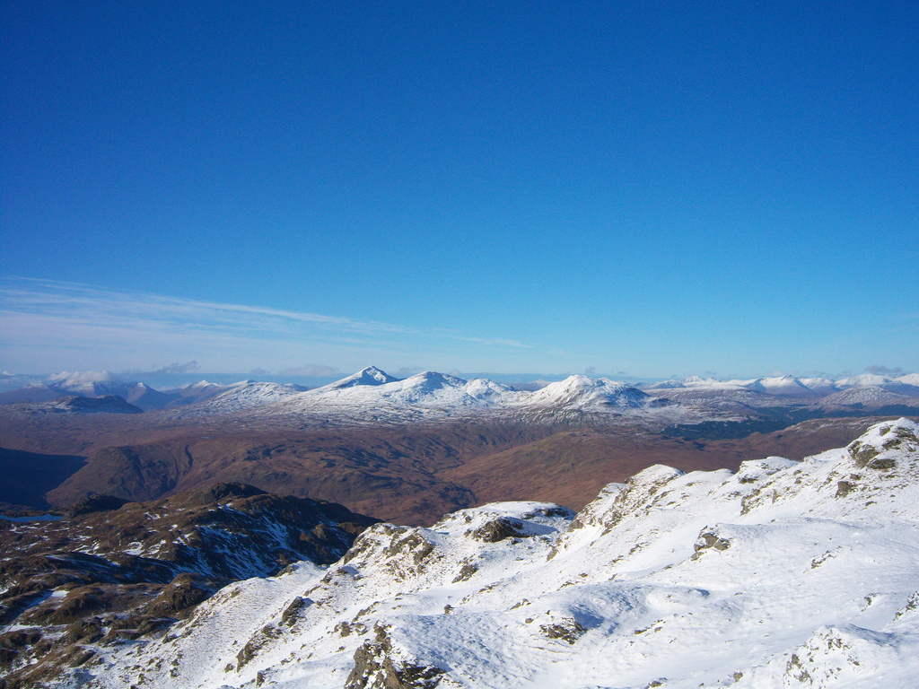 Ben Lui Scottish Highlands