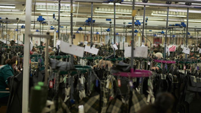 Behind the Scenes at Barbour's South Shields Factory