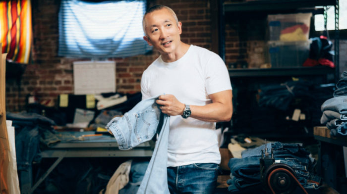 A Life in Levi's: 5 Minutes with Levi's Head of Global Design Jonathan Cheung