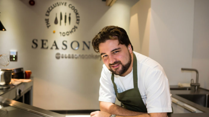Life at Lainston House with Season Cookery School Manager Sylvain Gachot