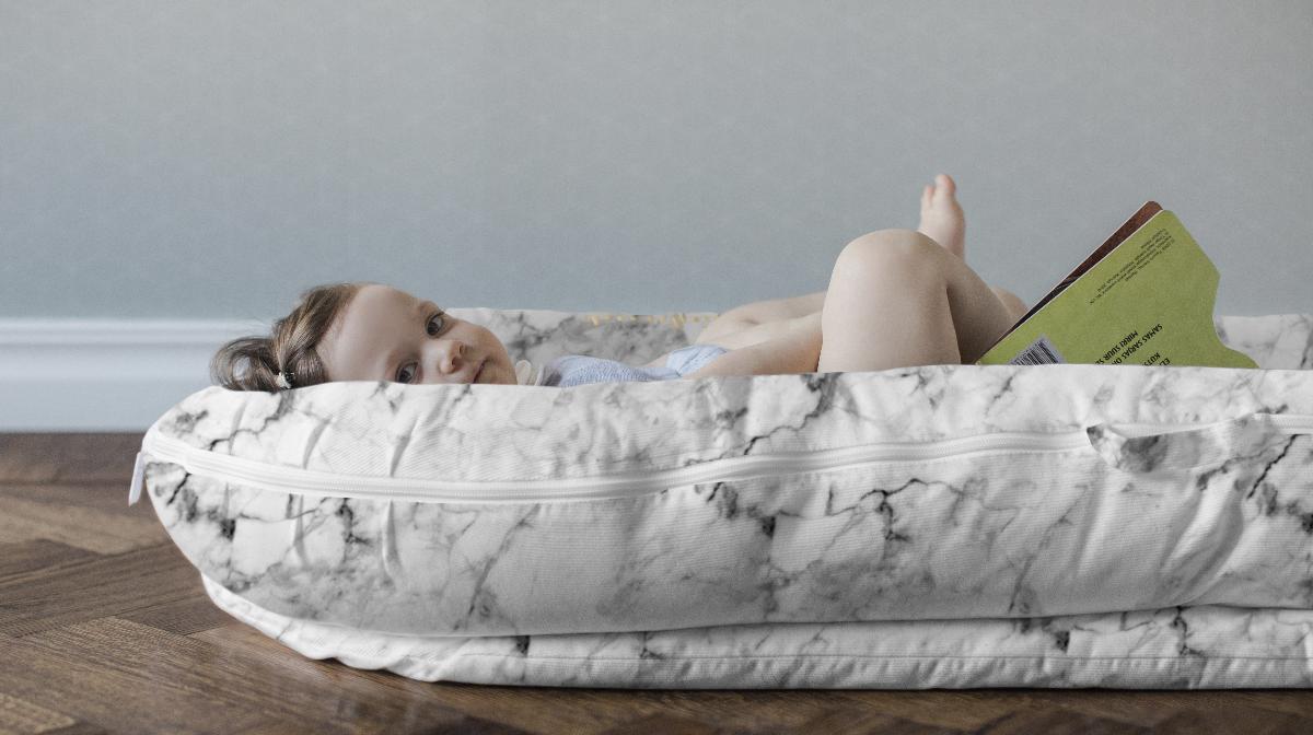 Scandinavian Baby Brands baby sleeping