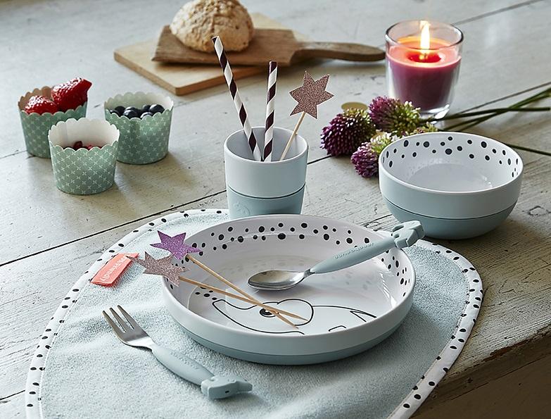 Scandinavian Baby Brands plates and utensils