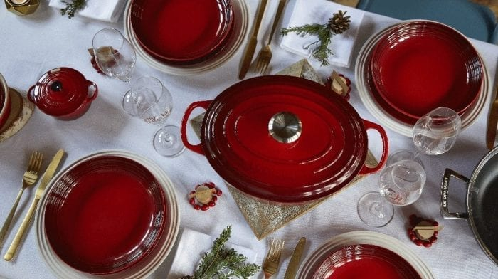 Decorate Your Festive Table with Le Creuset