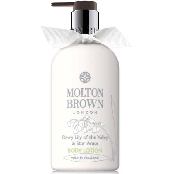 6. Molton Brown Dewy Lily Of The Valley & Star Anise Lotion Corporelle 300ml