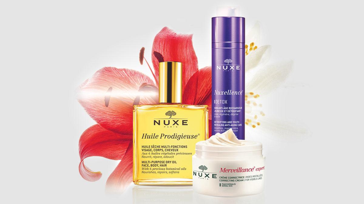 Nuxe: Un vrai plaisir d'or pour la peau