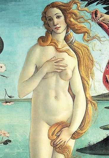 La Venus de Boticcelli