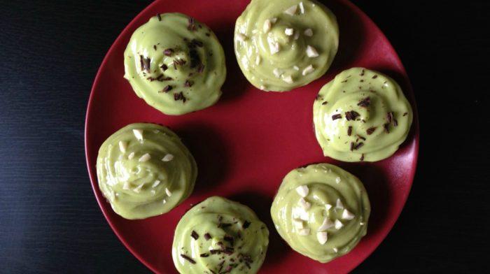 Cupcakes choc & beurre de cacahuètes légers, sans gluten