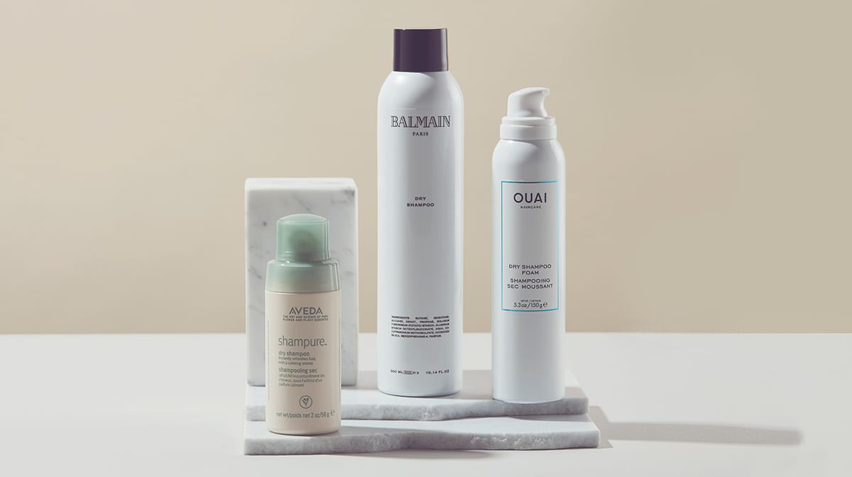Shampooing sec : mode d'emploi