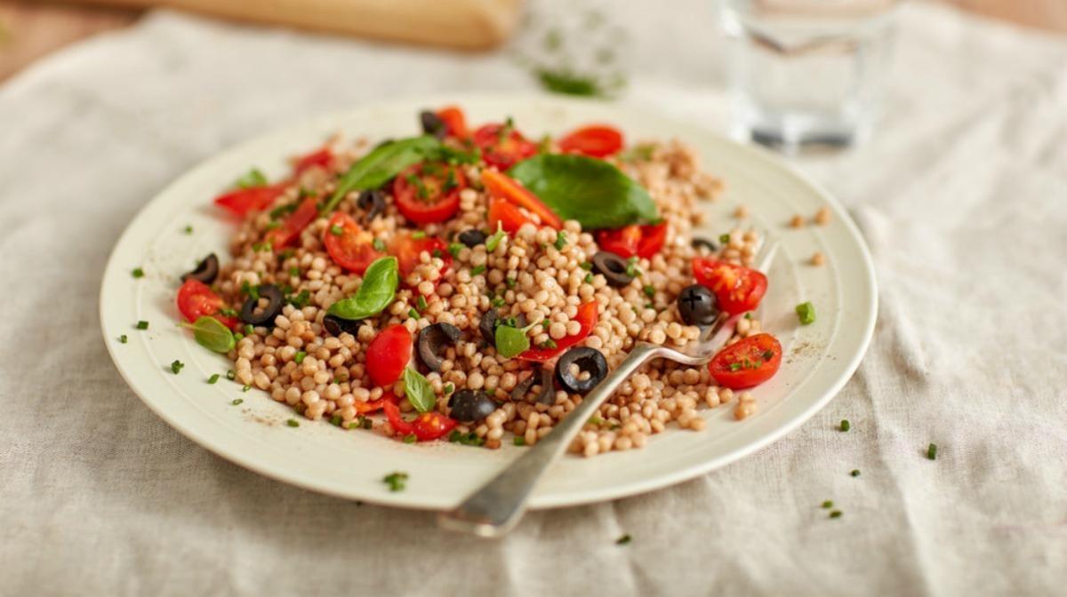 High Protein Super Grain Salad