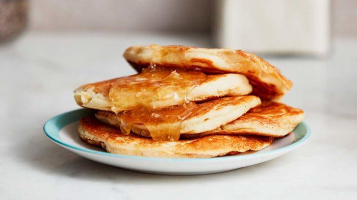Lighter Quark Pancakes Recipe With Lemon & Maple Syrup