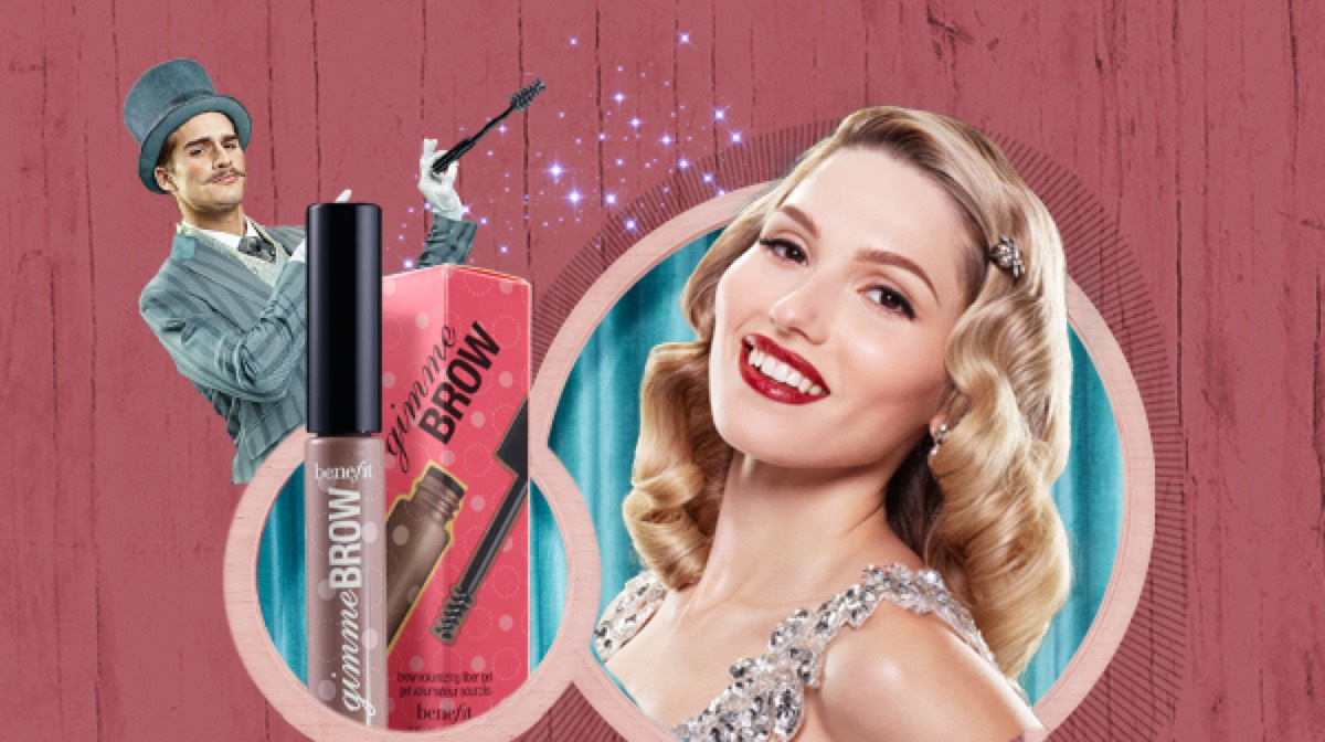 Perfect eyebrow Make Up with Benefit