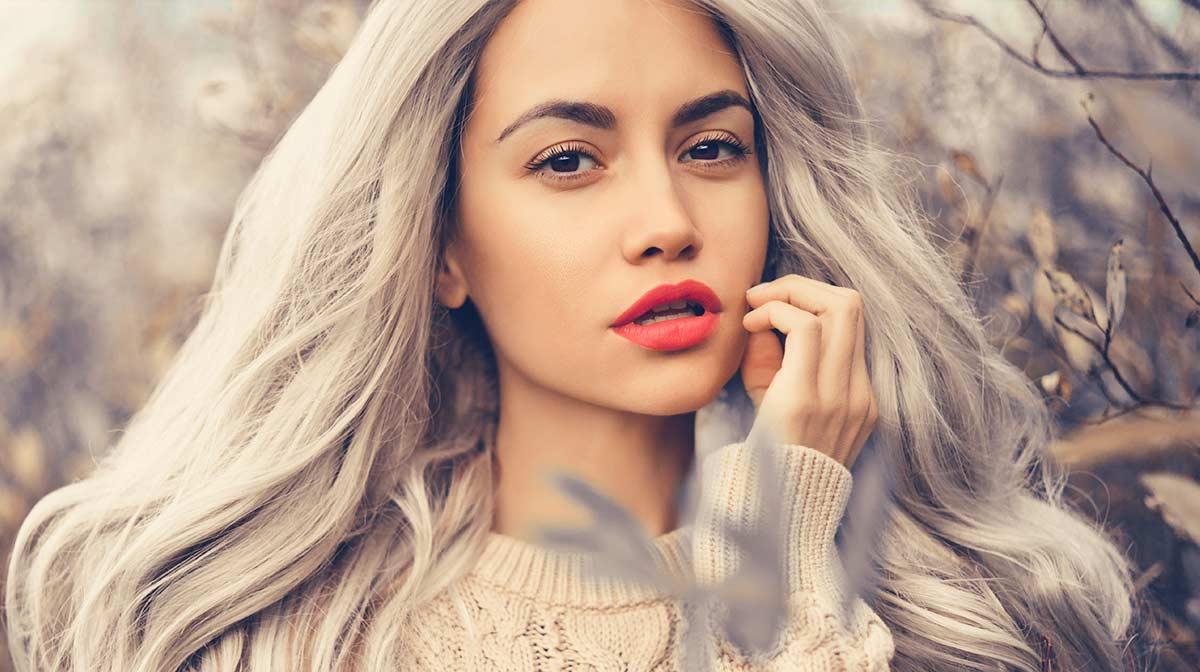Grey Hair and Make Up Tips