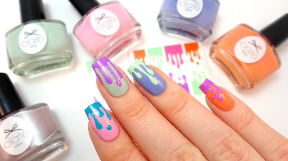 Ice Cream Manicure with Ciaté