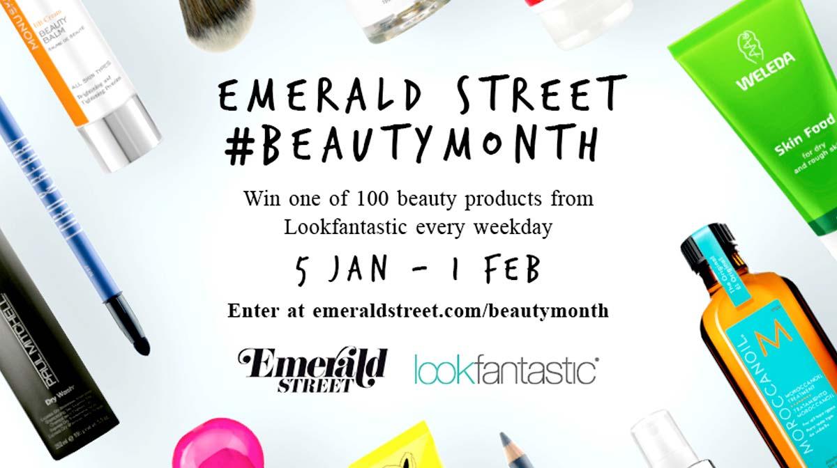 Emerald Street x Lookfantastic