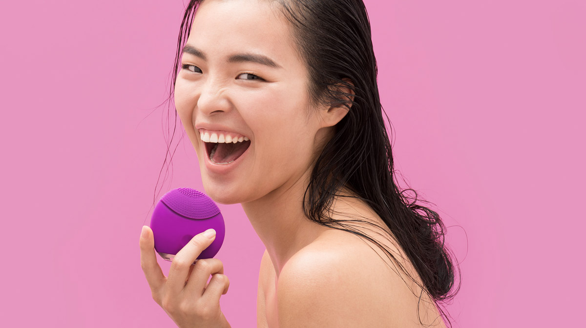FOREO Luna T-Sonic Technology