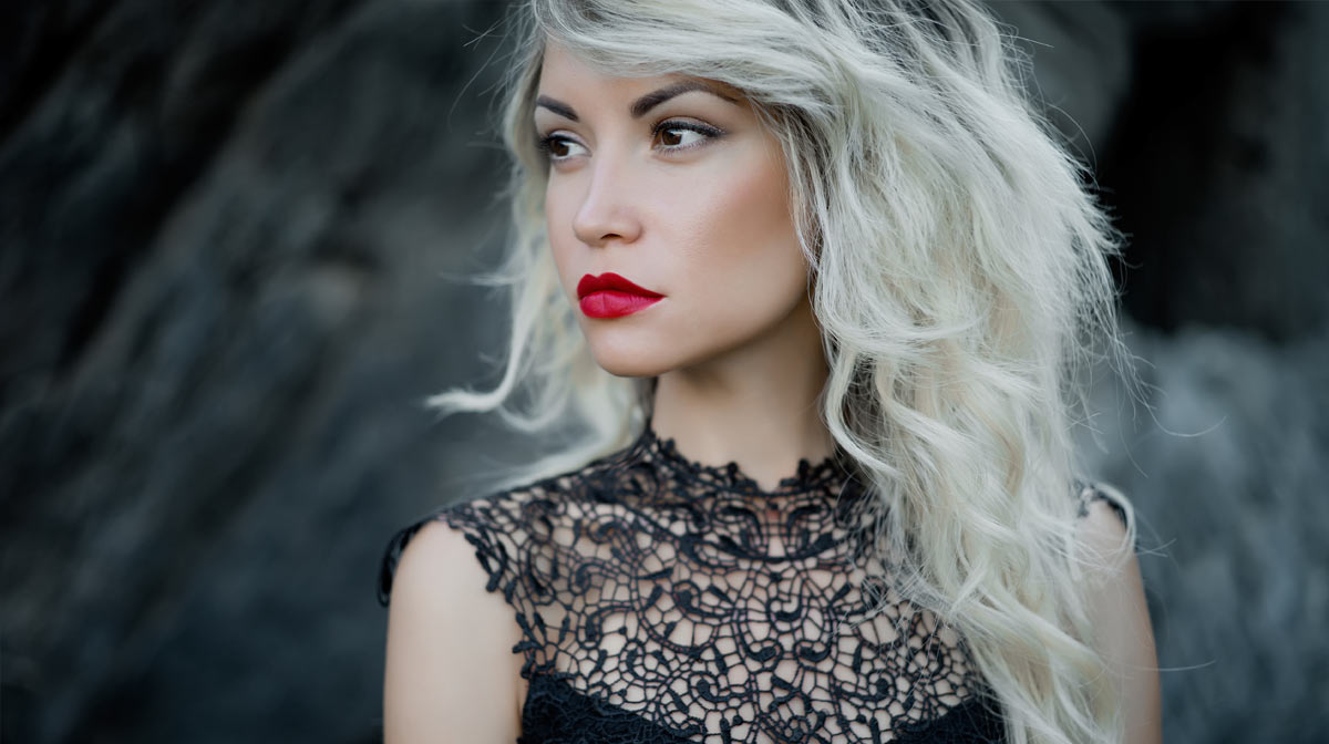 Red Lip Make Up Look
