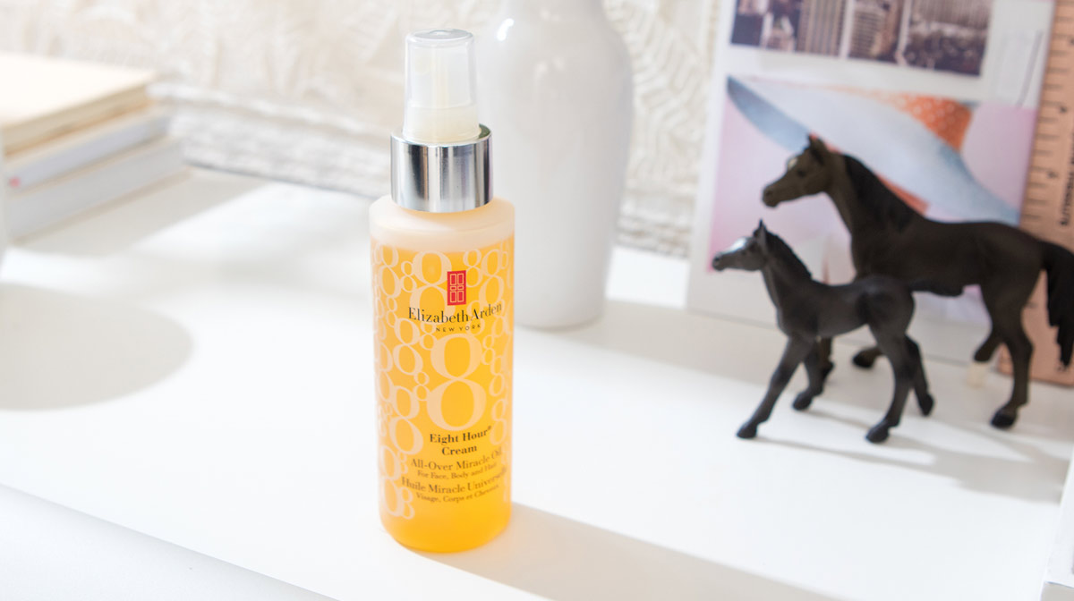 Elizabeth Arden Eight Hour Miracle Oil Wins Marie Claire Award