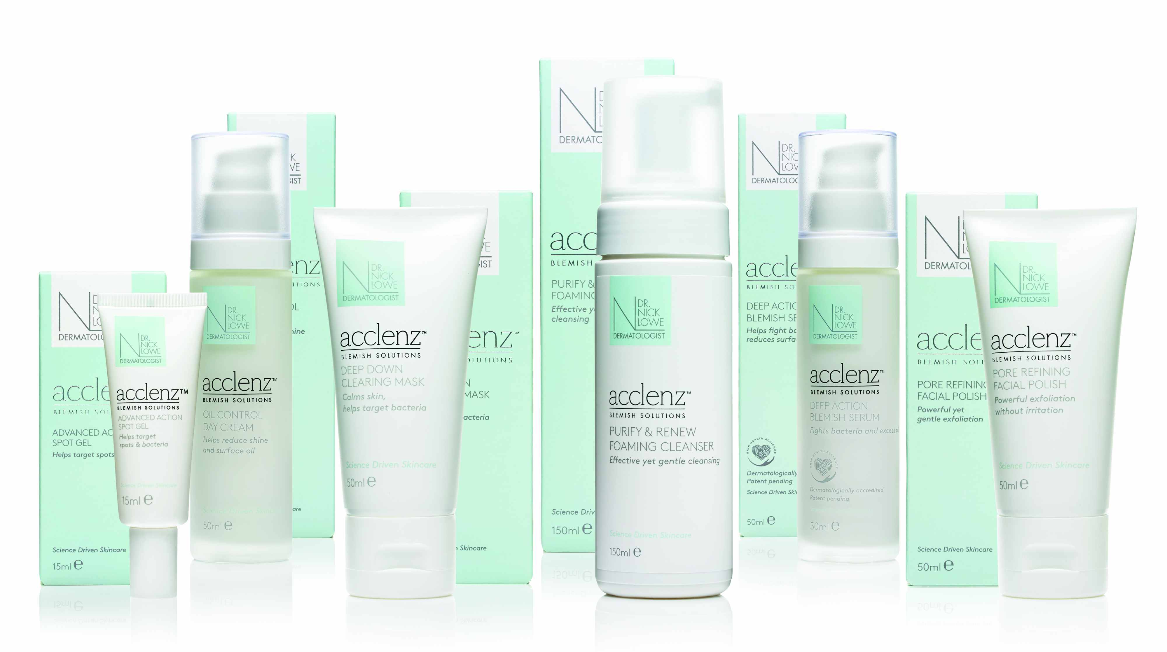 Acne Treatments from Dr Nick Lowe