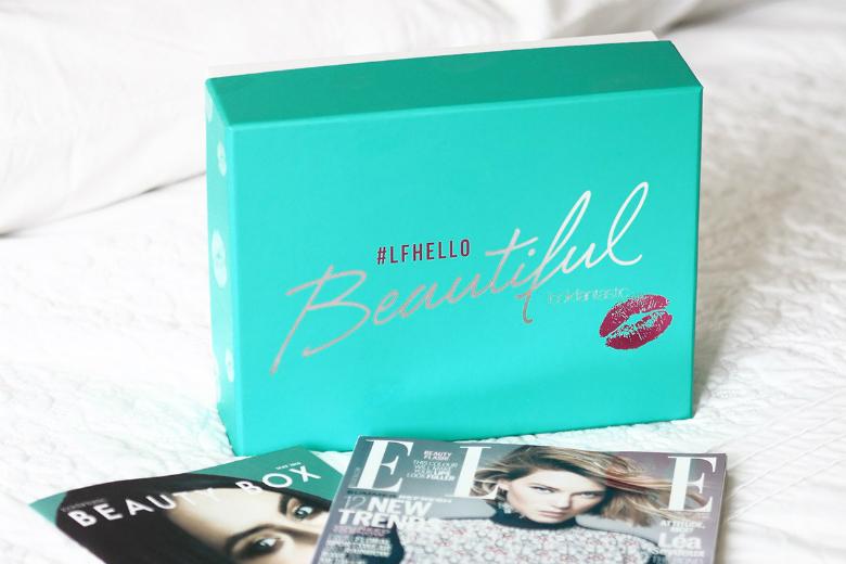 Liza Prideaux Lookfantastic Beauty Box Review