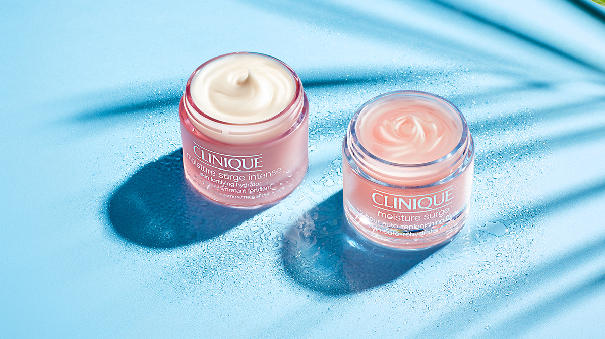 Quench your skin with the Clinique Moisture Surge range