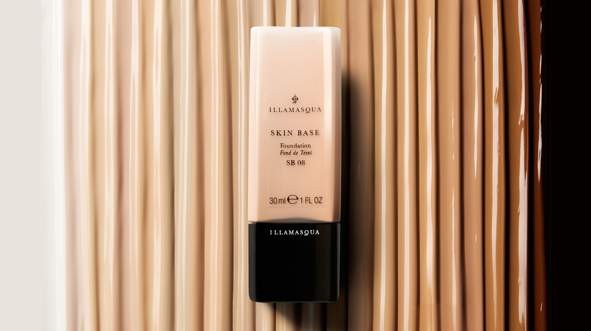 Illamasqua Skin Base Foundation Shades and Swatches