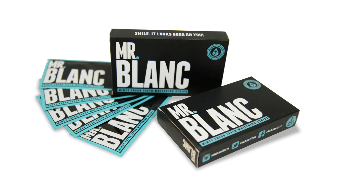 Mr.Blanc Teeth Whitening Strips