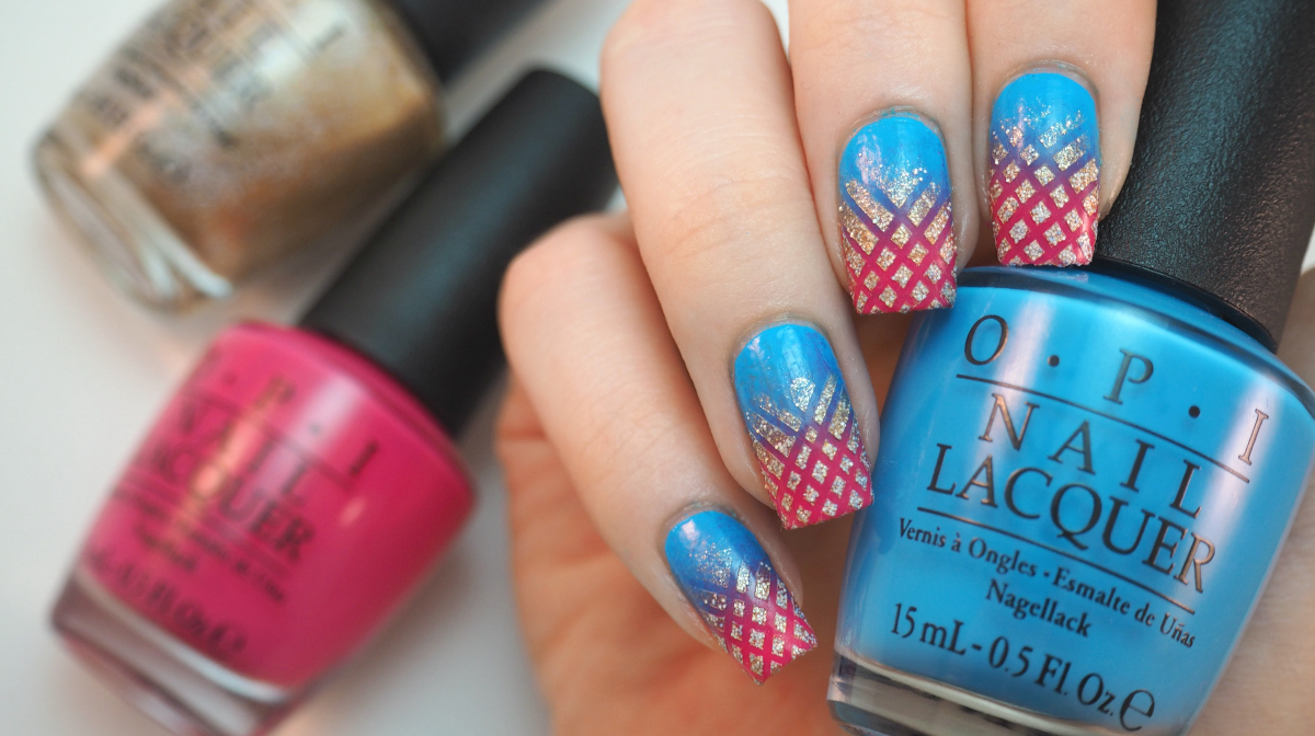 Nail Tutorial: O.P.I Alice Through The Looking Glass