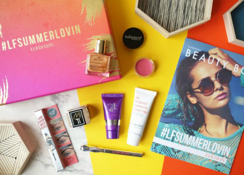 Thou Shalt Not Covet LFSummerlovin Lookfantastic Beauty Box Review