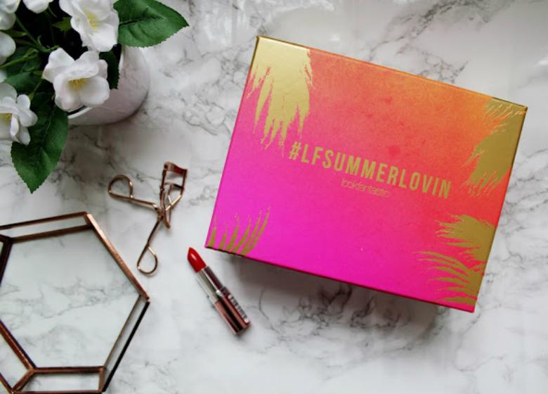 Fashion Train LFSummerlovin Lookfantastic Beauty Box Review