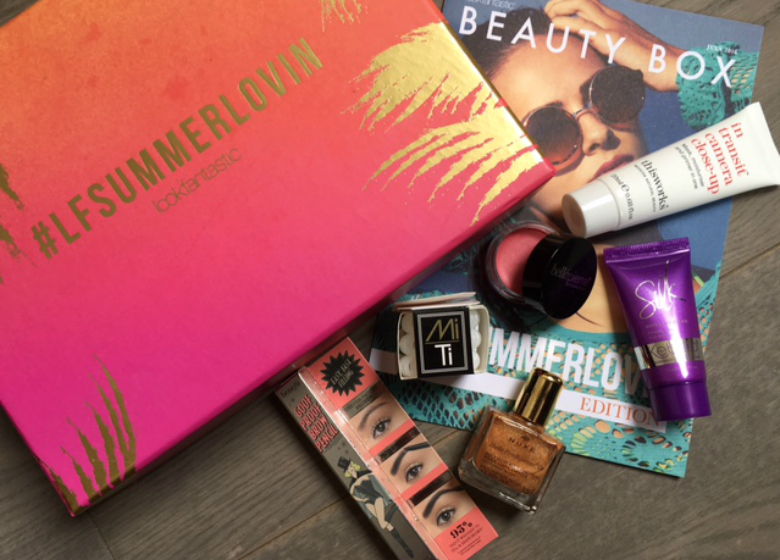 Mrs Jonas Recommends LFSummerlovin Lookfantastic Beauty Box Review